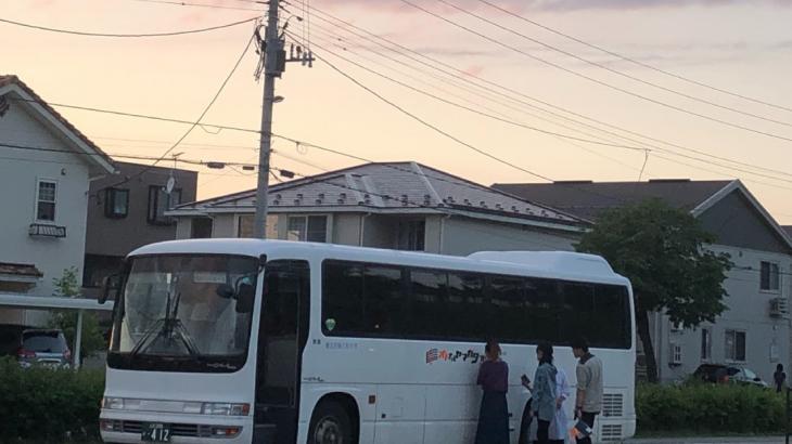 オトナルバス運行中!